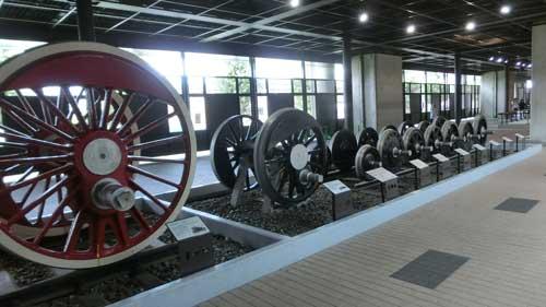 展示物の車輪