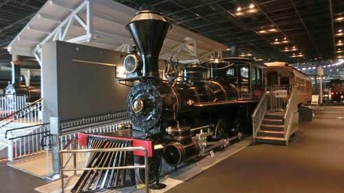鉄道博物館の弁慶号