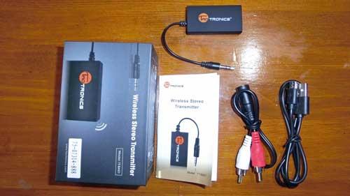 Bluetoothの音声トランスミッター