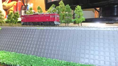 ブロック擁壁の築堤