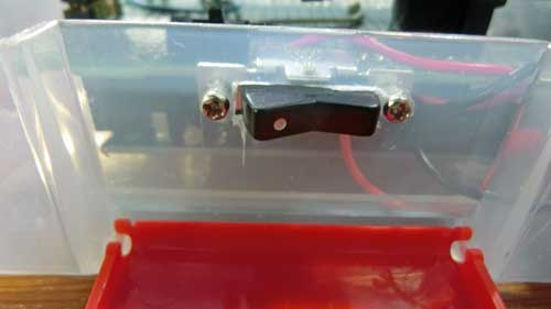 電池のスイッチ
