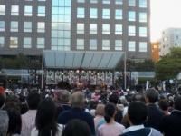 市民広場にて