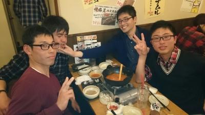 左から、内田・澤田・佐々木さん・小室