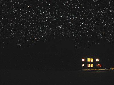北海道の満天の星空
