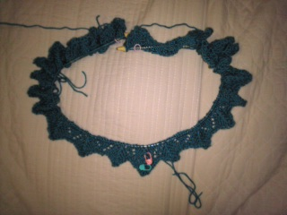 一玉編み終わり