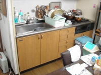 キッチン施工前2