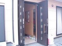 玄関網戸1