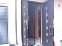 玄関網戸2