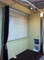 キッズスペース、着付室、カーテン