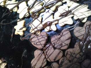 クッキー(チョコハート)