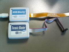 USBブラスターとTerasicブラスター