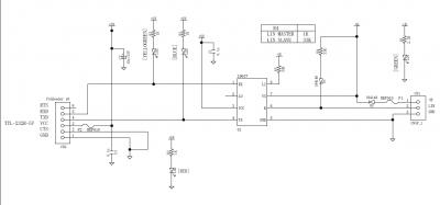 LIN-USB変換基板 回路図