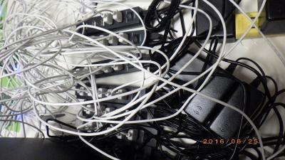 USBを30個つなげた