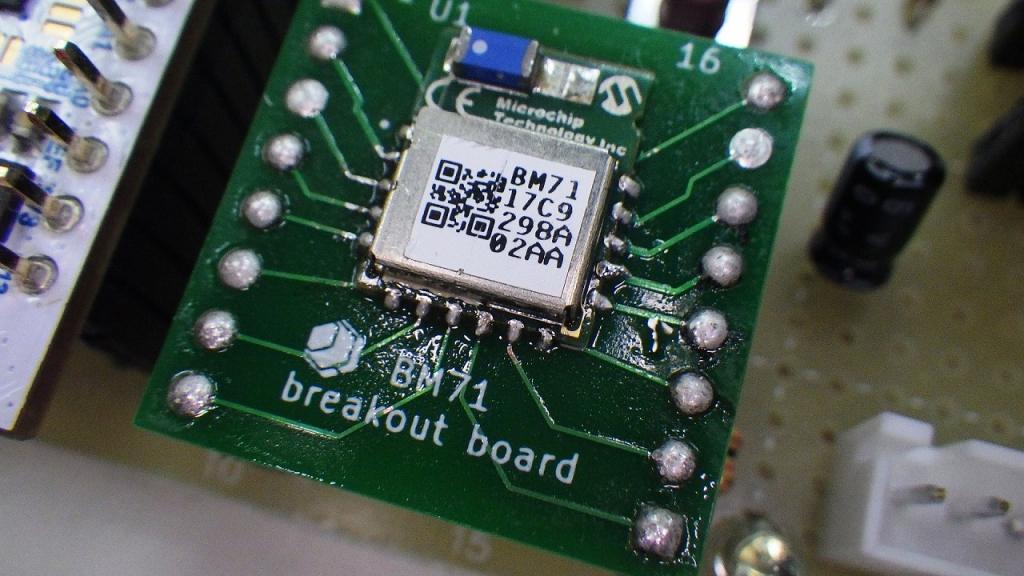BM71 break out board