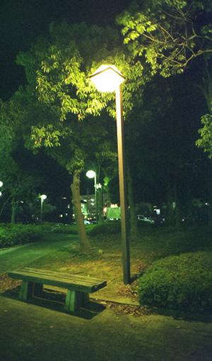 NATURAで夜景。