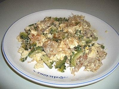 ゴーヤチャンプル(琉球料理)