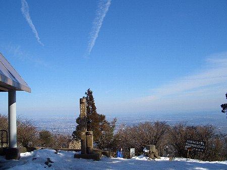 標高1252mのピラミッド型の美しい山容の大山