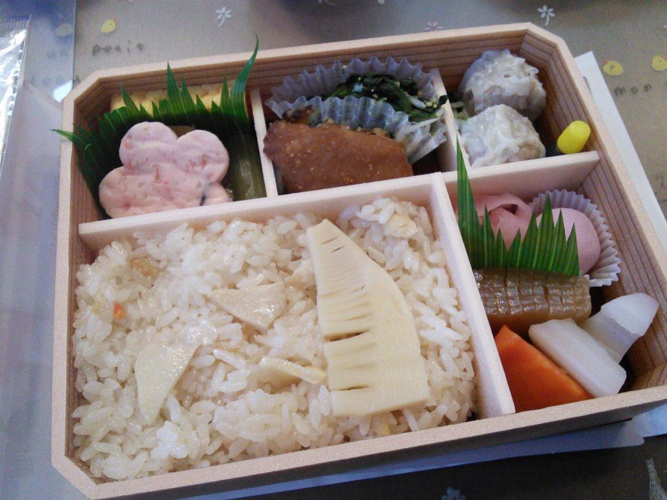 崎陽軒「おべんとう春」の季節のおかず