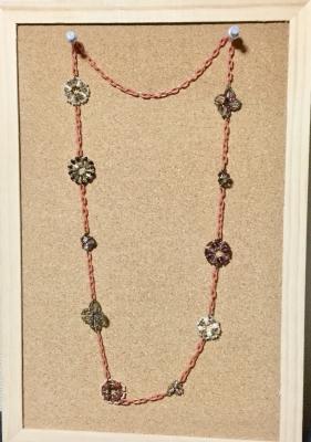 お花のネックレス2
