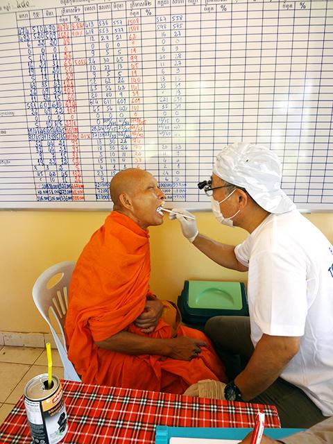 カンボジア医療支援活動