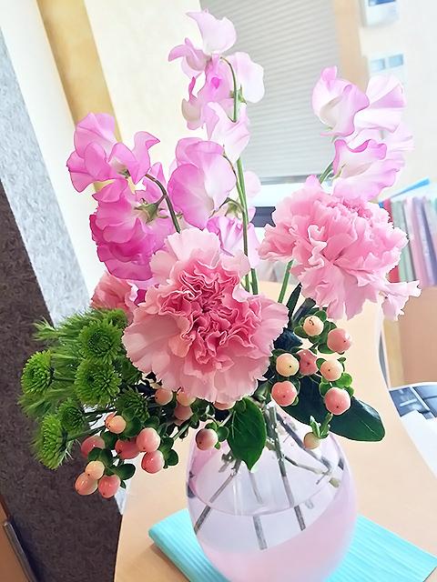 分院のお花