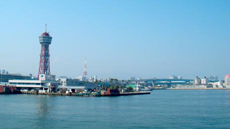 博多港に着きました