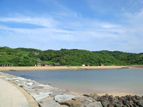 小水浜 砂浜