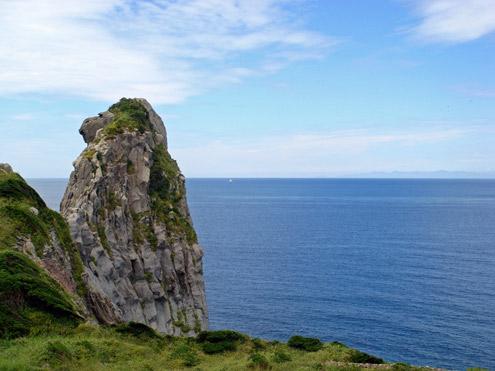 猿岩と対馬