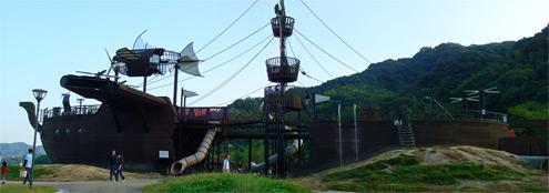 天拝湖公園 帆船