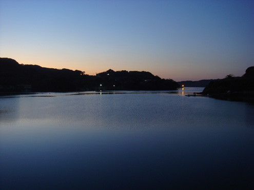 壱岐の夕暮れ1