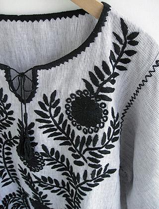 メキシカン刺繍のTUNIC
