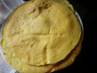 クレープ 大豆 粉