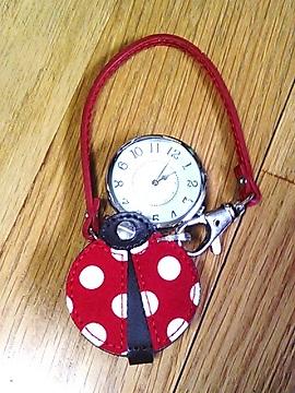 てんとう虫時計