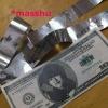 銀テープ、お札