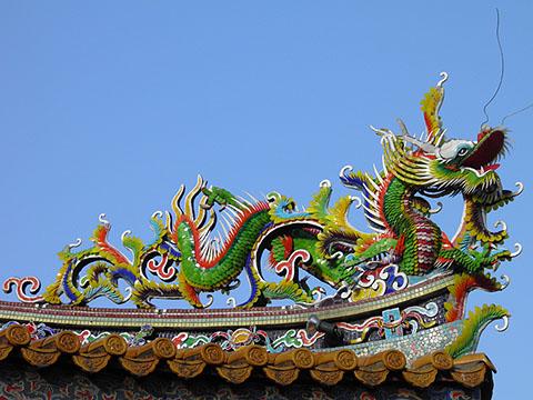 横浜関帝廟、昇龍