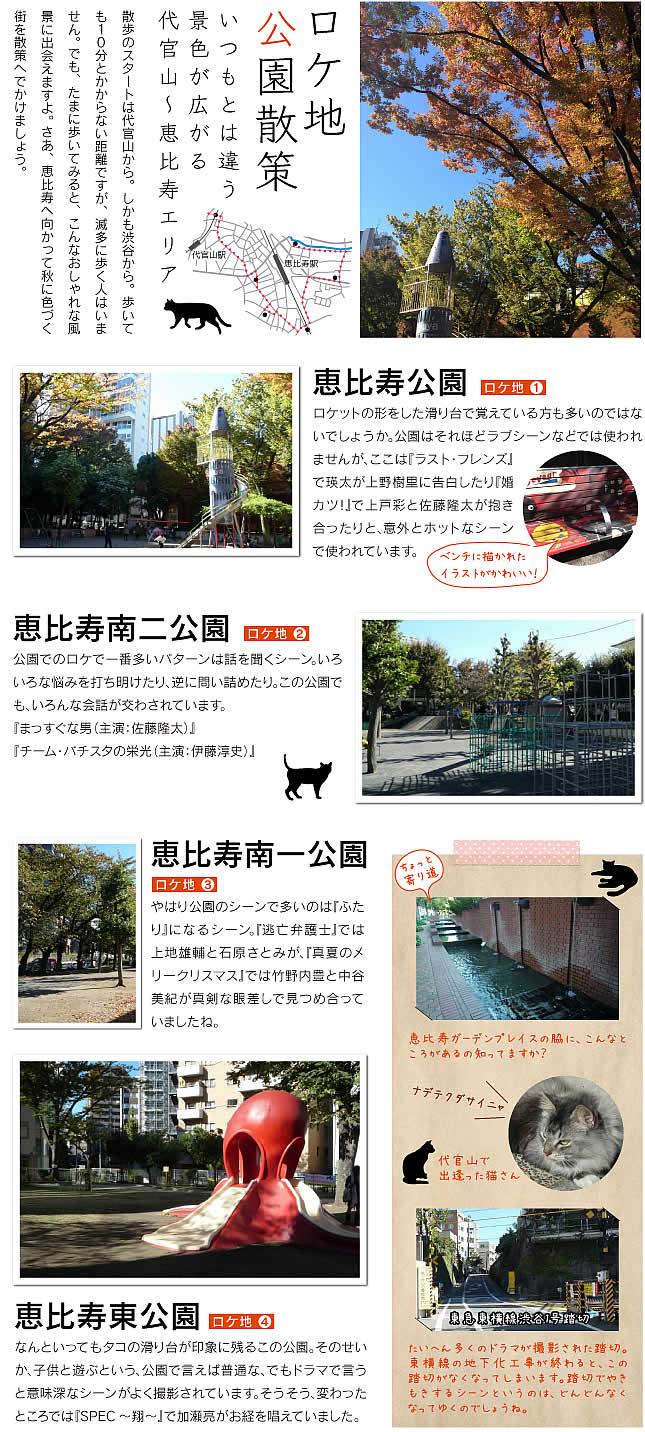 恵比寿ロケ地マップ