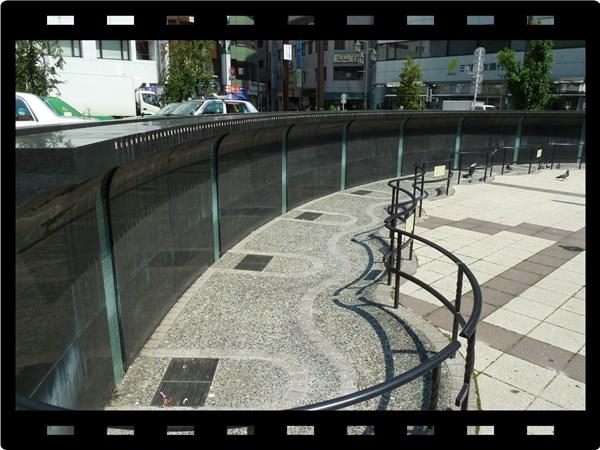高円寺の噴水