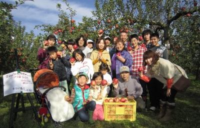2012リンゴ狩り