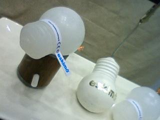 電球ロウソク