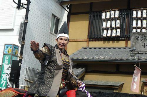 小田原城 高島さん