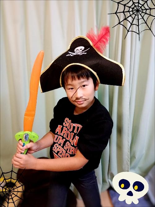 海賊船の船長さん
