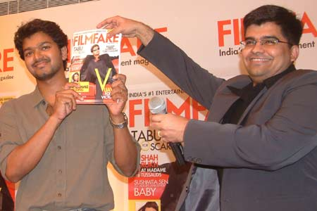 vijay with filmfare