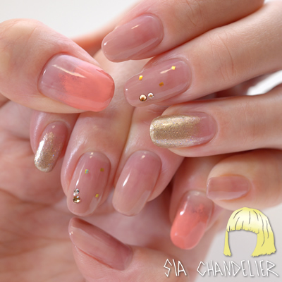 Sia Chandelier Nail