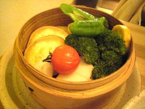 蒸し京野菜