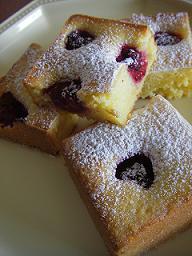 ラズベリーのヨーグルトケーキ