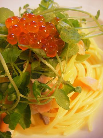 鮭と白ねぎのパスタ 〜dancyuスペシャル〜