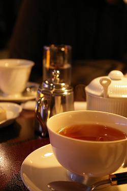 とてもおいしい紅茶でした ^^