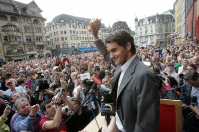 Federer enjoys perfect homecoming