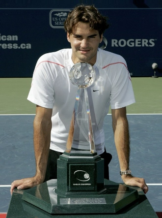 2006 Rogers Cup Champion, Roger Federer