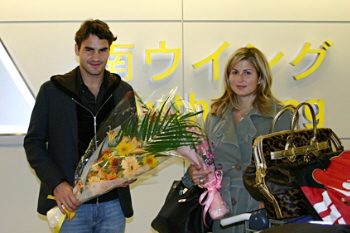Roger arrives in Japan